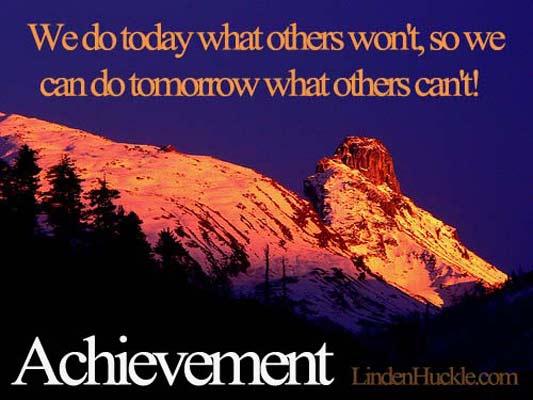 achievement quote