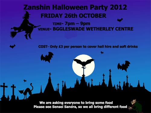 zanshin karate club halloween 2012