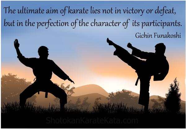funakoshi quote