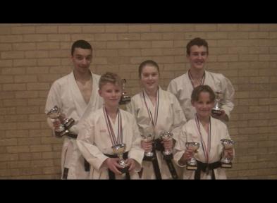 karate trophy haul 2013 november