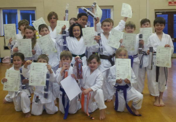 biggleswade karate club kyu grades